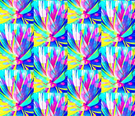 Cosmic desert flower fabric bauden spoonflower for Cosmic print fabric