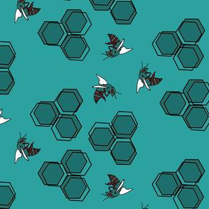 Apian Honey Comb - Rogue Colorway