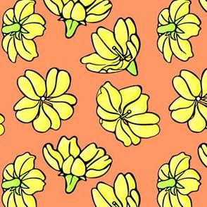 Sweet Yellow Blooms