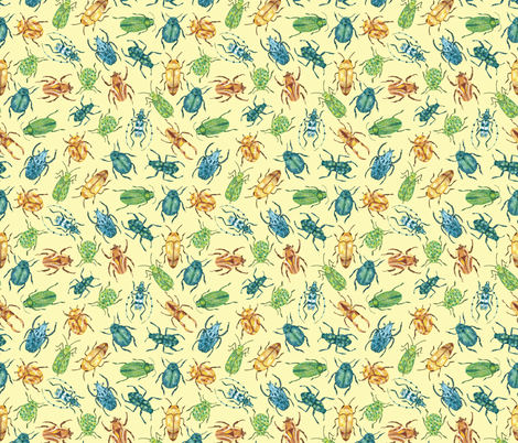 Bugs! fabric by elylu on Spoonflower - custom fabric