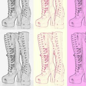 Suga Lane Goth Boots #2