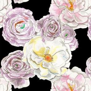 Blackberry Kiss Roses