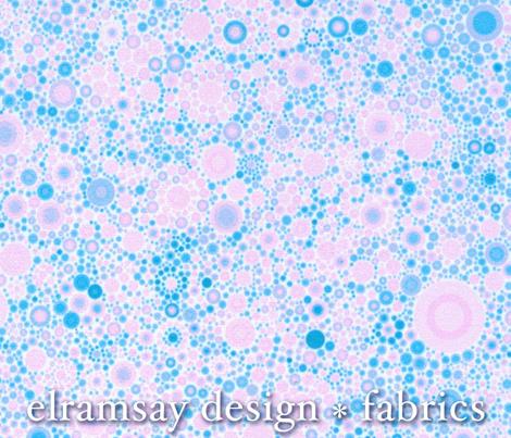 Spotty Dotty Pastel Pink and Blue
