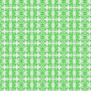 Suga Lane Captive Forest in Green & White #1