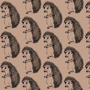 Badass Hedgehog Earthy