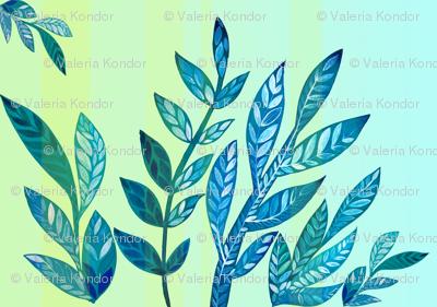 azure leaves