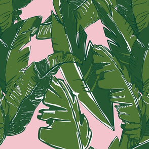Leaves Baninque in Pink Conch