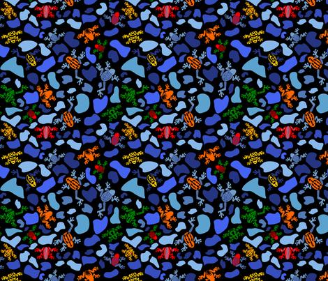 Dart Frogs fabric by pamelachi on Spoonflower - custom fabric
