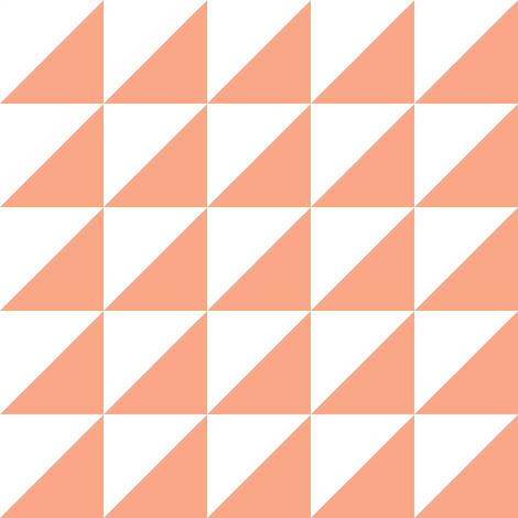 white peach half triangle fabric by pencilmein on Spoonflower - custom fabric