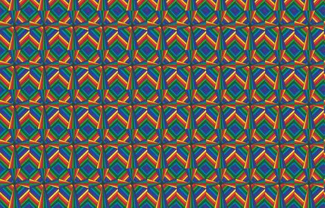 Rainbow Cross fabric by sweber on Spoonflower - custom fabric