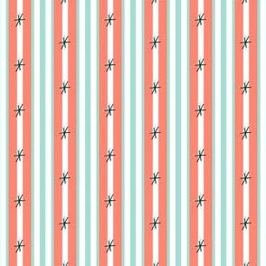 Mint Coraldition Stripes