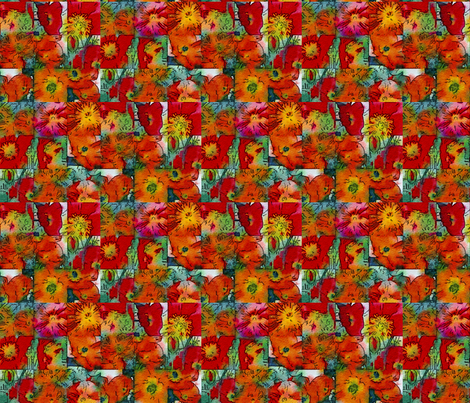 For the Love of Poppies fabric by lisathorpe on Spoonflower - custom fabric