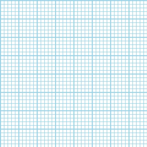 Graph Paper - Light Blue Fabric - Weavingmajor - Spoonflower