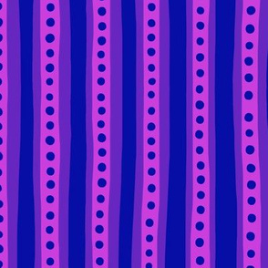 Stripes in pink and purple