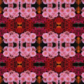 pink'n red flower caleidoscope