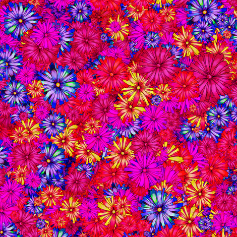 BLOSSOM SEASON PASSION fabric by paysmage on Spoonflower - custom fabric