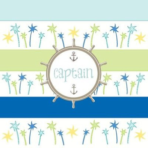 Anchors Lagoon Stripes-Captain