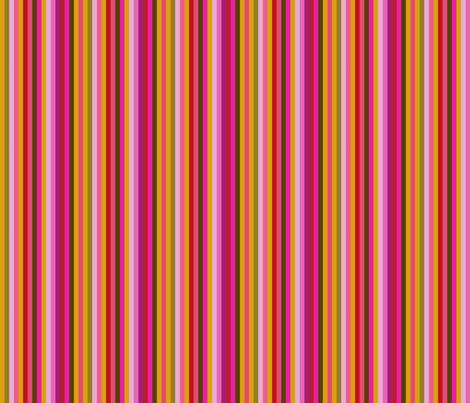 flowery stripes  fabric by arwen1860 on Spoonflower - custom fabric