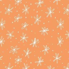 Ditsy Orange