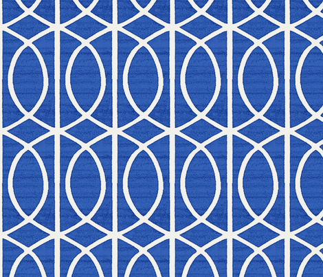 Regalia Geometric Blueberry fabric by littlerhodydesign on Spoonflower - custom fabric