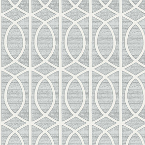 Regalia Geometric Dove Grey
