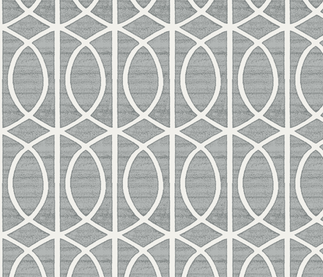 Regalia Geometric Ash Grey Fabric Littlerhodydesign