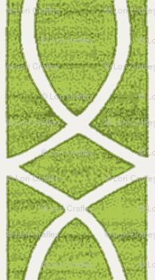 Regalia Geometric Lime