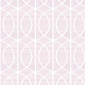 Regalia Geometric Dusty Pink