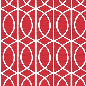 Regalia Geometric Really Red