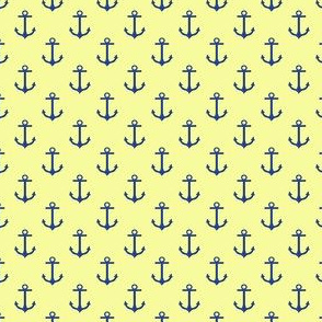 Preppy Anchor Yellow