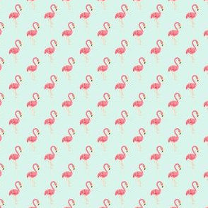 Preppy Flamingo Spa
