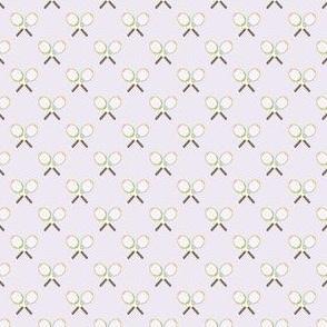 Preppy Racquet Lilac