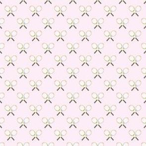 Preppy Racquet Pink
