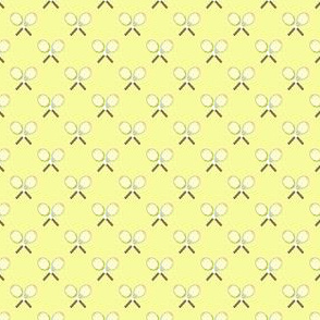 Preppy Racquet Yellow