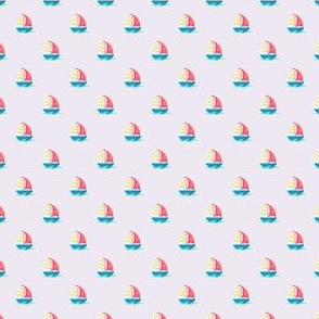 Preppy Sailboat Lilac