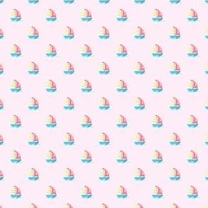 Preppy Sailboat Pink