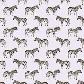 Preppy Zebra Lilac
