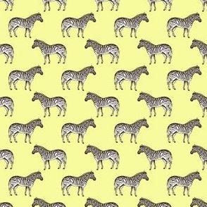 Preppy Zebra Yellow