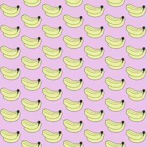 Pink banana print