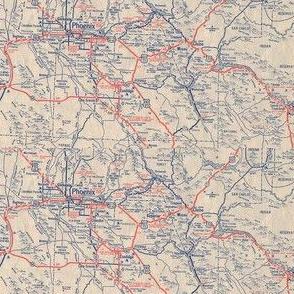 Phoenix map