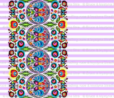 Wycinanka_003_Border_Print_Purple_Stripes