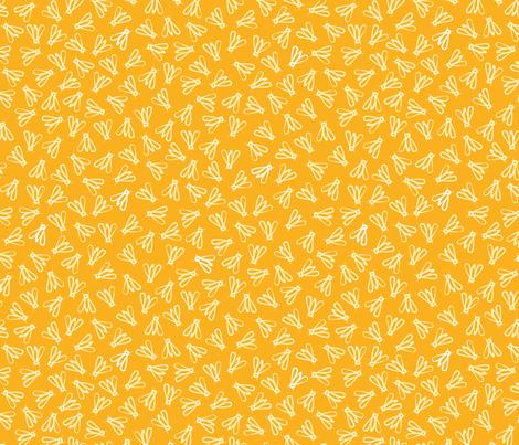 Honeybees fabric by irina_radtke on Spoonflower - custom fabric
