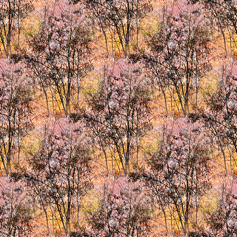 Spring Trees fabric by arts_and_herbs on Spoonflower - custom fabric