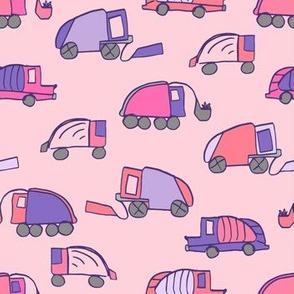 LaraGeorgine_Garbage_Trucks-Pink
