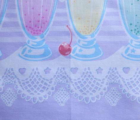 Pastel Cute Milkshake- Violet