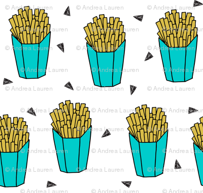 french fries // novelty fast food junk food fried food