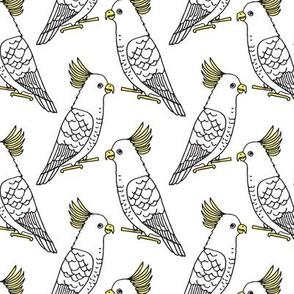 Cockatoo - White by Andrea Lauren