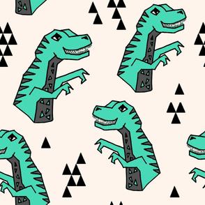 dinosaurs // dino kids boys nursery prehistoric jurassic giant print