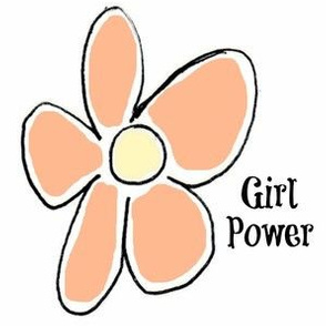 Girl Power -tangerine