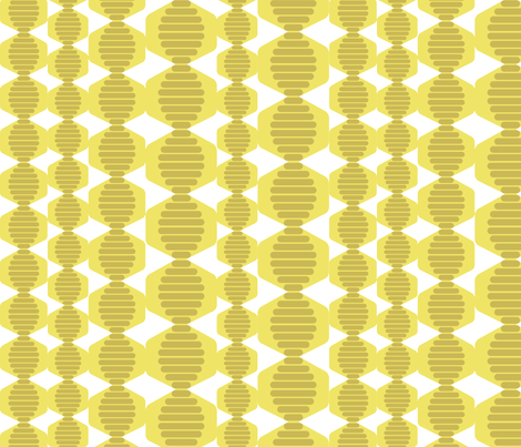 Dangling Hives fabric by chris_jorge on Spoonflower - custom fabric